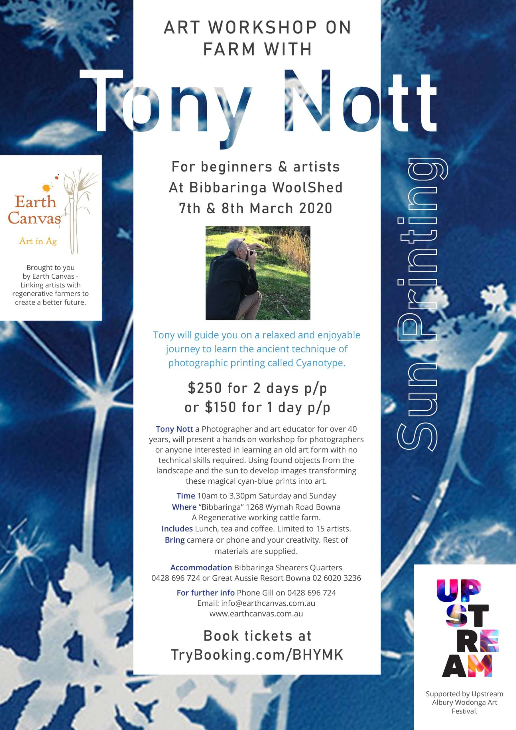 Tony Nott - Art workshop