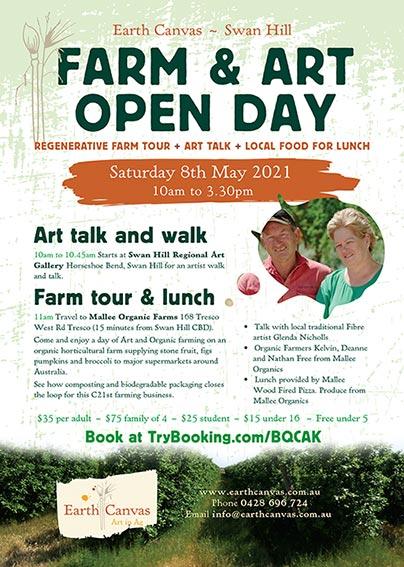 Farm Art Open Day - Swan Hill Flyer