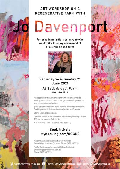 Art Workshop Jo Davenport