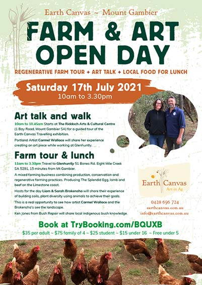 Farm and Art Open Day at Mount Gambier