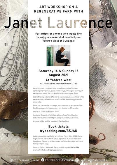 Janet Laurence - Art Workshop